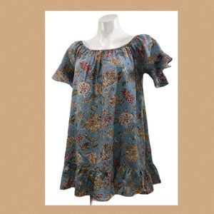 Easel Tunic / smock Baby Doll Style Floral Top
